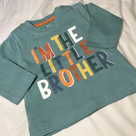 0-3 Month Little Brother Top